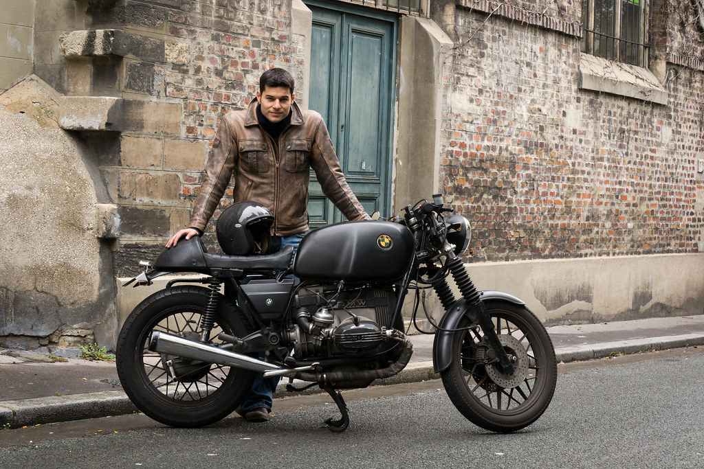 Tenue vintage cafe racer