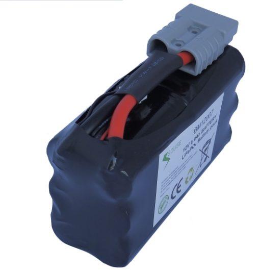 Batterie solise 12v faible largeur