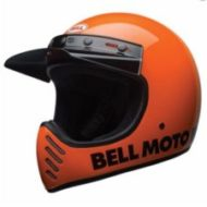 casque Bell orange classic