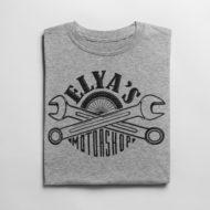 T-Shirt Elya's M Gris