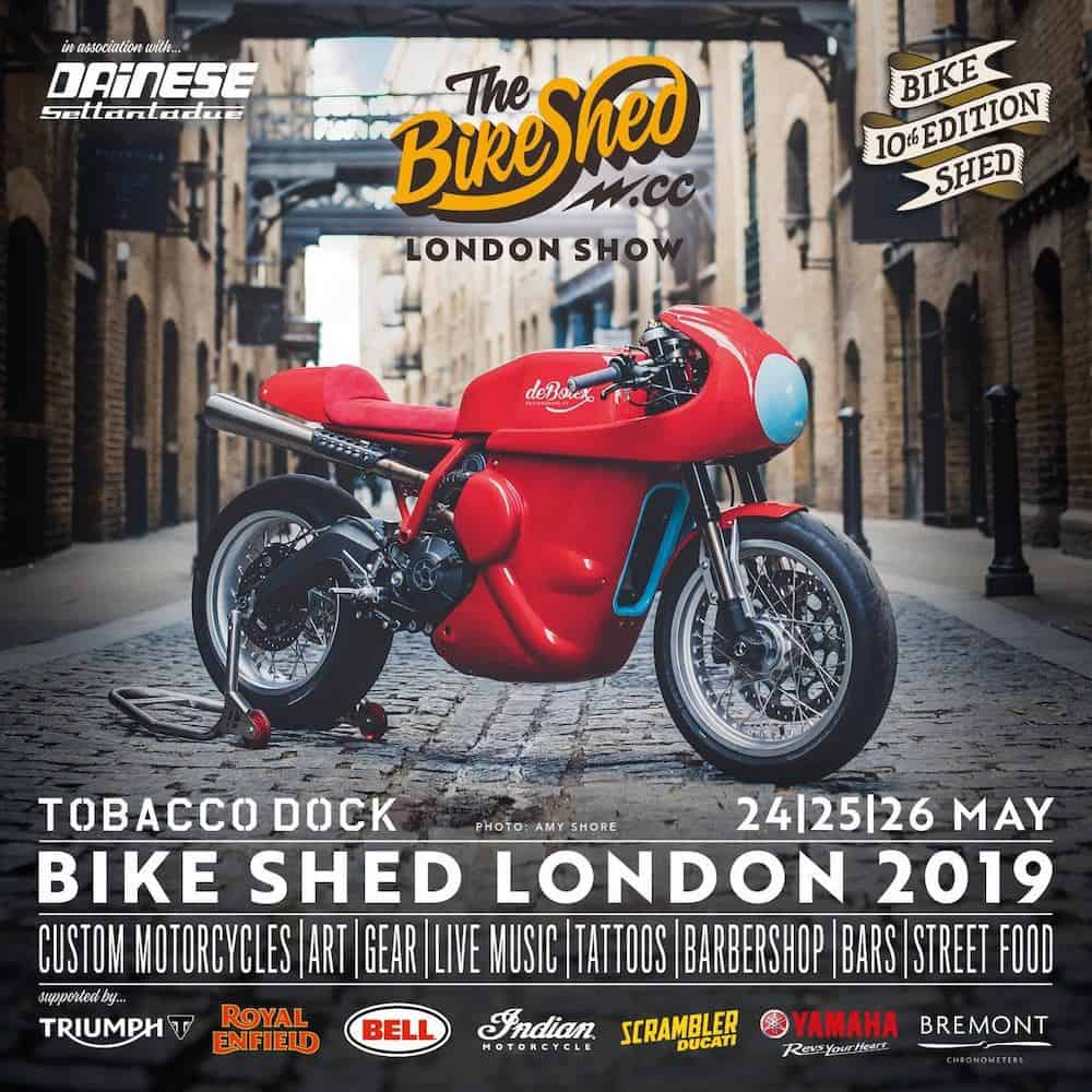 The bikeshed 2019 Custom motorcycles