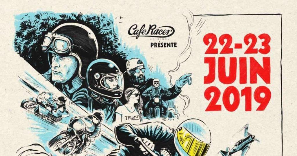 Café Racer Festival, le 22 et 23 juin 2019 à l'autodrome de Linas