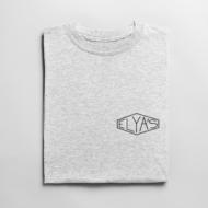 T-shirt Elya's LOGO Blanc