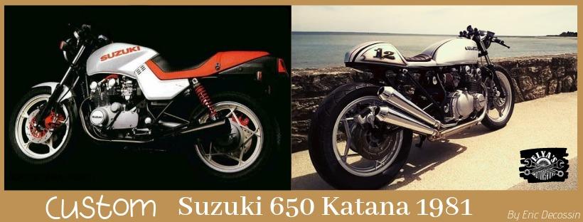 Custom Suzuki 650 Katana 1981